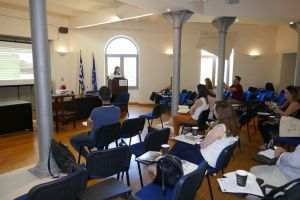 Project presentation in the Presentation and Networking Meeting of LIFE Projects